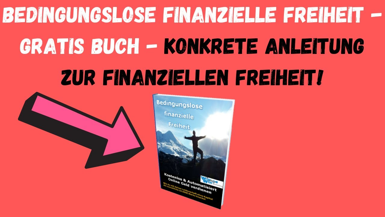 Bedingungslose Finanzielle Freiheit Buch | Link in der ...