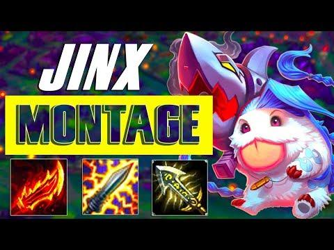 Jinx Montage #51 - Best Jinx Plays S7 - League of Legends
