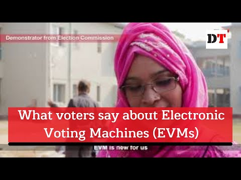 What voters say about Electronic Voting Machines (EVMs)