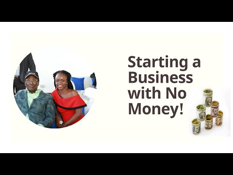How to start a business with NO money - Dr. Chris Kirubi