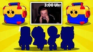 4x NEUER BRAWLER AUS 2x MEGA BOX! | *NEUER* 3 Uhr Nachts Account! | Brawl Stars deutsch