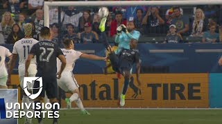 Ike Opara en el primer lugar de los Magníficos 10 golazos de la MLS en la semana 17