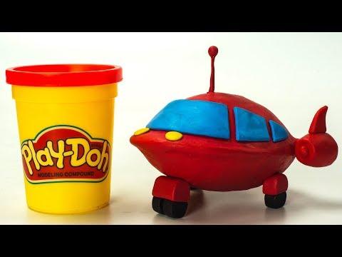 Little Einsteins Disney Junior Kids Play-Doh Cars   Stop Motion Animation