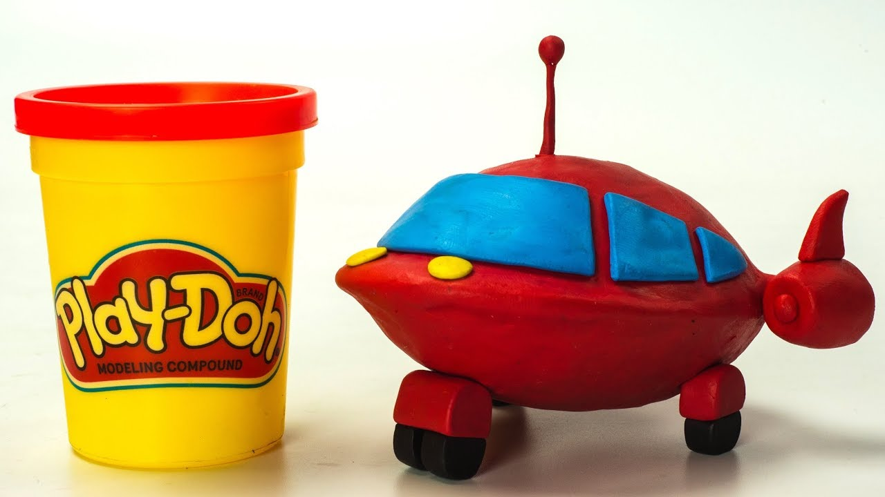 Little Einsteins Disney Junior Kids Play-Doh Cars | Stop Motion Animation
