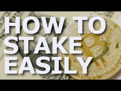 How To Stake Cryptocurrencies Easily + Ethereum 2.0 Staking