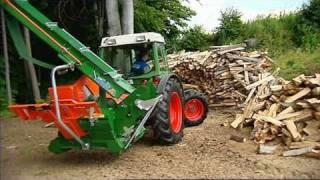 Piła do drewna z przenośnikiem CutMaster 700 Posch
