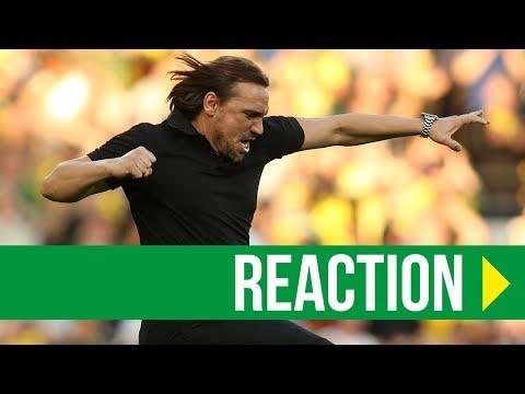Norwich City 1-1 Hull: Daniel Farke Reaction