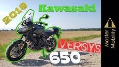 Kawasaki Versys 650 (2018)   (A2) Review/Probefahrt/Bikeporn   Der Alleskönner?   #MasterMobility
