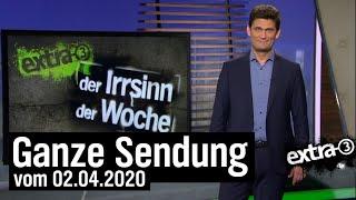 Extra 3 vom 02.04.2020 mit Christian Ehring