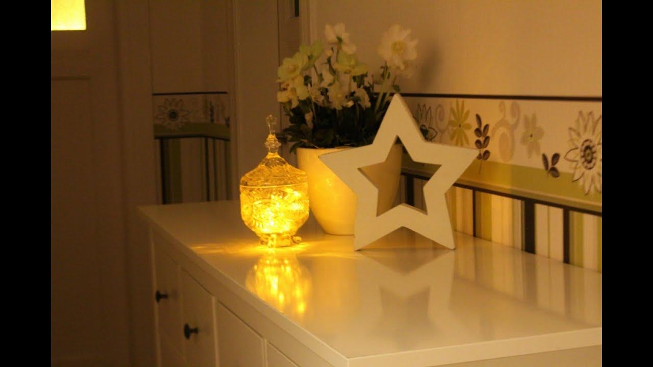 weihnachtsdeko in weiss youtube. Black Bedroom Furniture Sets. Home Design Ideas