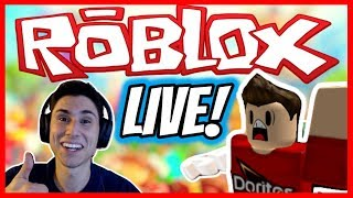 FUNNY ROBLOX LIVE STREAM WITH FANS! 🔴 *NEW Super Power Training Simulator + Jailbreak Live Stream!
