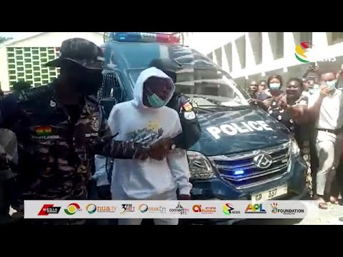 Download Shatta Wale and others arrive in Court amidst heavy security
