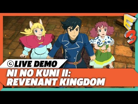 Ni No Kuni 2's Real Time Combat Was Influenced By Western RPGs | E3 2017 GameSpot Show