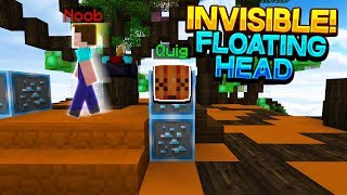 INVISIBLE FLOATING PLAYER HEAD TROLL! (HYPIXEL SKYWARS TROLLING)