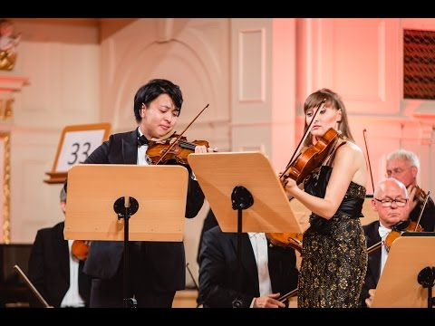 Seiji Okamoto plays Mozart and Bach - Stage 3 - International Wieniawski Violin Competition STEREO