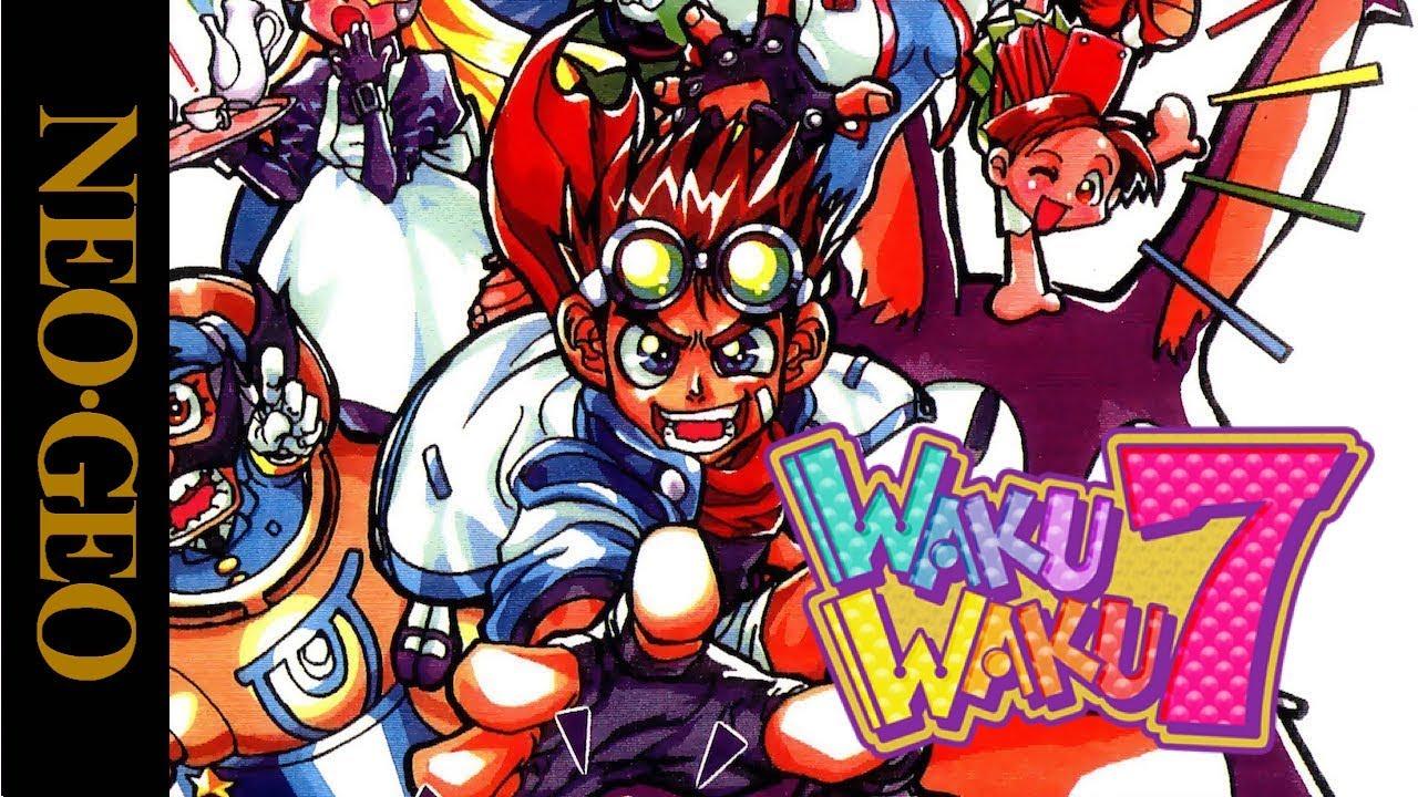 Download Test : WAKU WAKU 7 sur NEO GEO AES