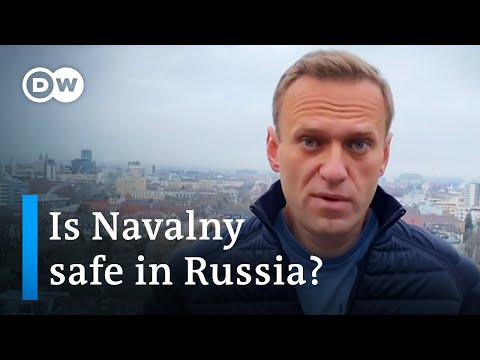 Poisoned opposition leader Alexei Navalny heads back to Russia | DW Deutsch