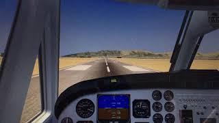 Beechcraft King Air Landing FSX