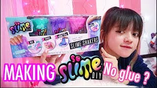REVIEW TERRRR.... TUTORIAL & UNBOXING SO SLIME DIY SURPRISE - MAKING SLIME IMPORT $$$ $EPERTI APA ?