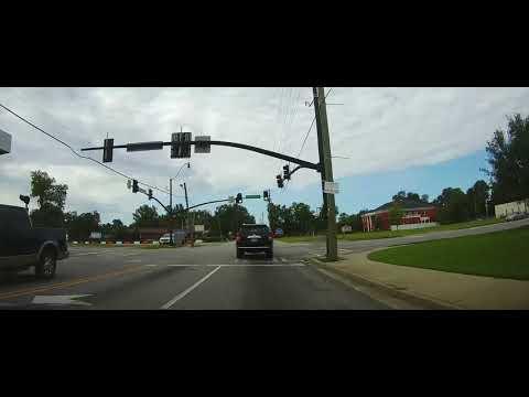 Driving Through Statesboro, Georgia