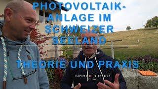 Photovoltaik Anlage Seeland - Schweiz