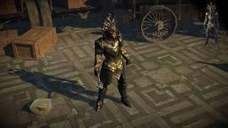 Path of Exile: Gorgon Armour Set