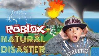 Aizen Plays Natural Disaster Survival Roblox Adventures | Giant Tornado | Tsunami Wave |