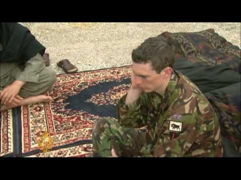 British troops study Afghan cultural rules - 17 Jun 09