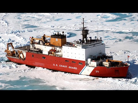 Ice Breaking Ships Braving the Arctic Circle ! Biggest Ships Stuck in the Ice
