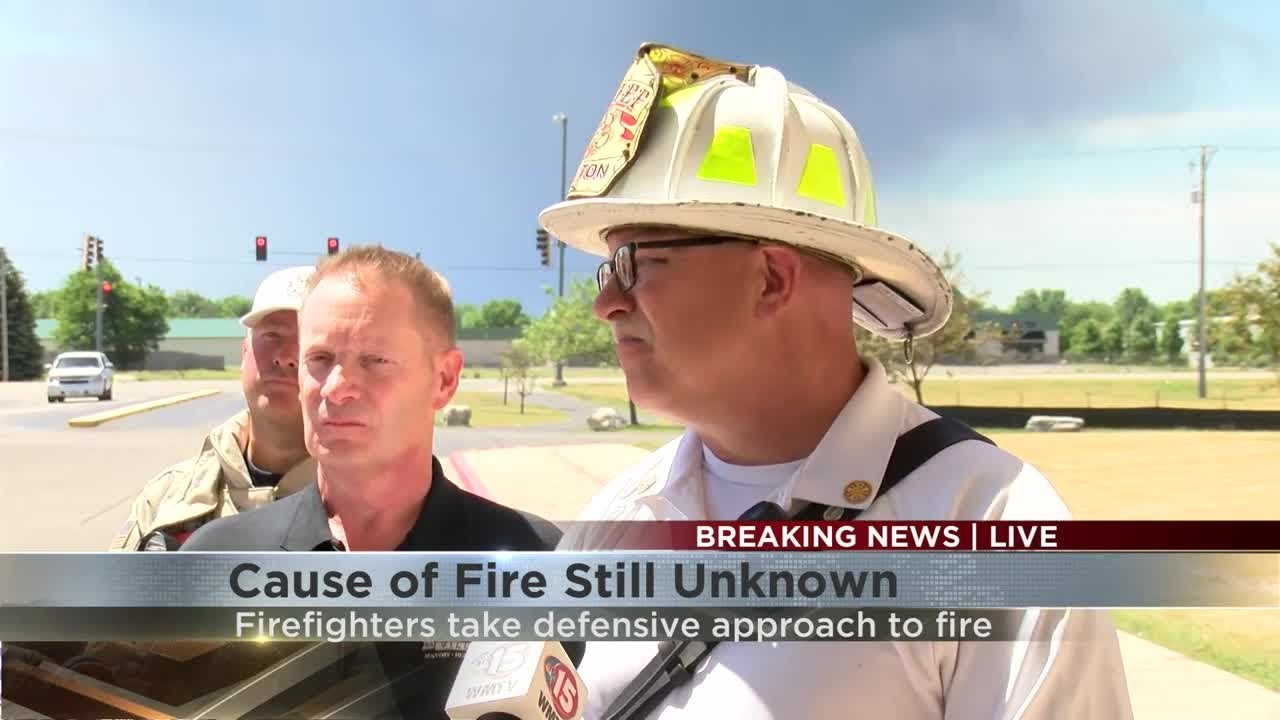 Fire Chief: Chemtool fire could last days