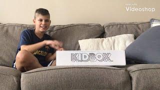 Kidbox 12 year old boy unboxing like stitch fix for kids