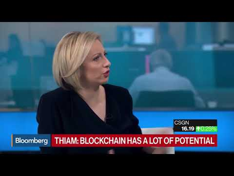 Credit Suisse CEO Thiam on Bitcoin