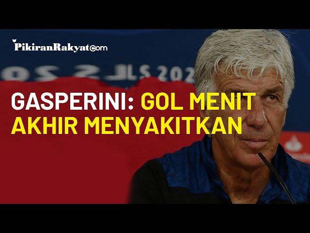 Atalanta Gagal Lolos ke Semifinal Liga Champions, Gasperini Komentari Gol Telat PSG