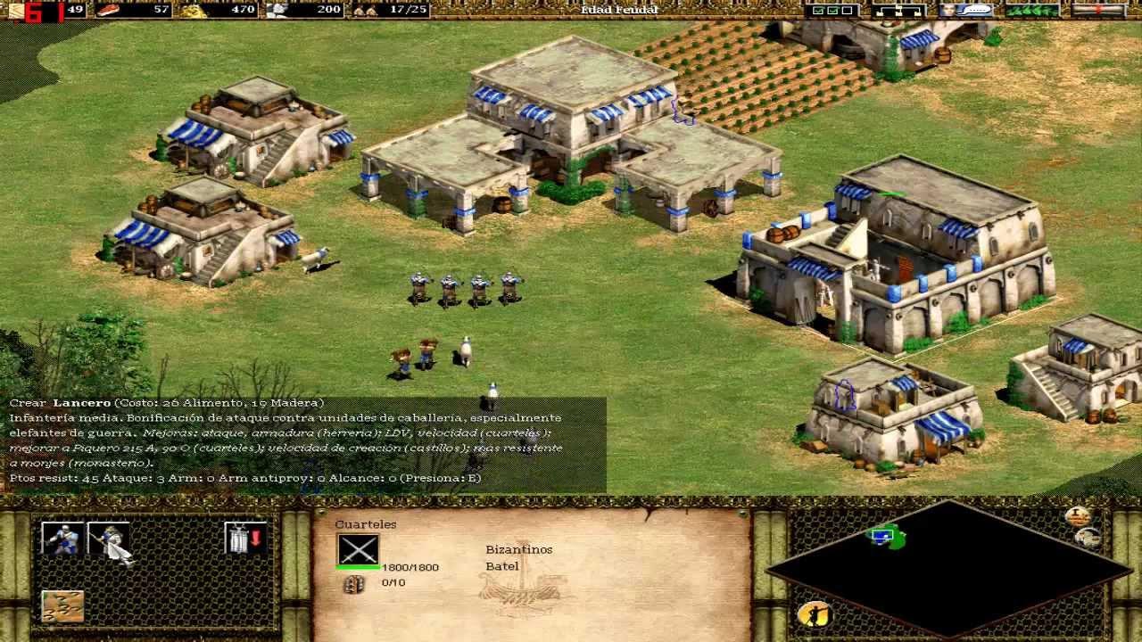 Nuevo Juego Age Of Empires Ii Episodio 1 Los Cimientos Del Desarrollo Youtube