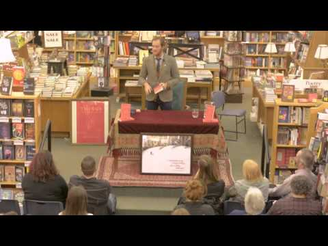 """Waylon reads """"Things I would like to do with You"""" at the Historic Boulder Book Store."""