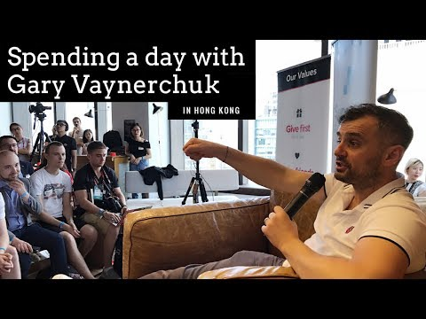 Spending a day with Gary Vaynerchuk in Hong Kong | YourChinaGuy