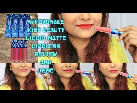 kiss-beauty-liquid-matte-lipstick-review -affordable-matte-lipstick-at-rs120