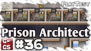 Prison Architect #36 Punktuelle Optimierungen Lets Play Gefängnis Simulator Manager deutsch HD