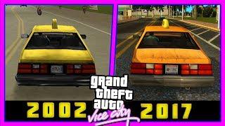 КАК ВЫГЛЯДИТ НОВАЯ GTA Vice City 2018: Сравнение с GTA Vice City 2002