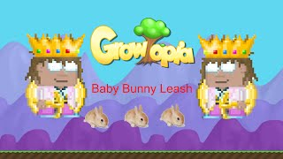 Growtopia Baby Bunny leash
