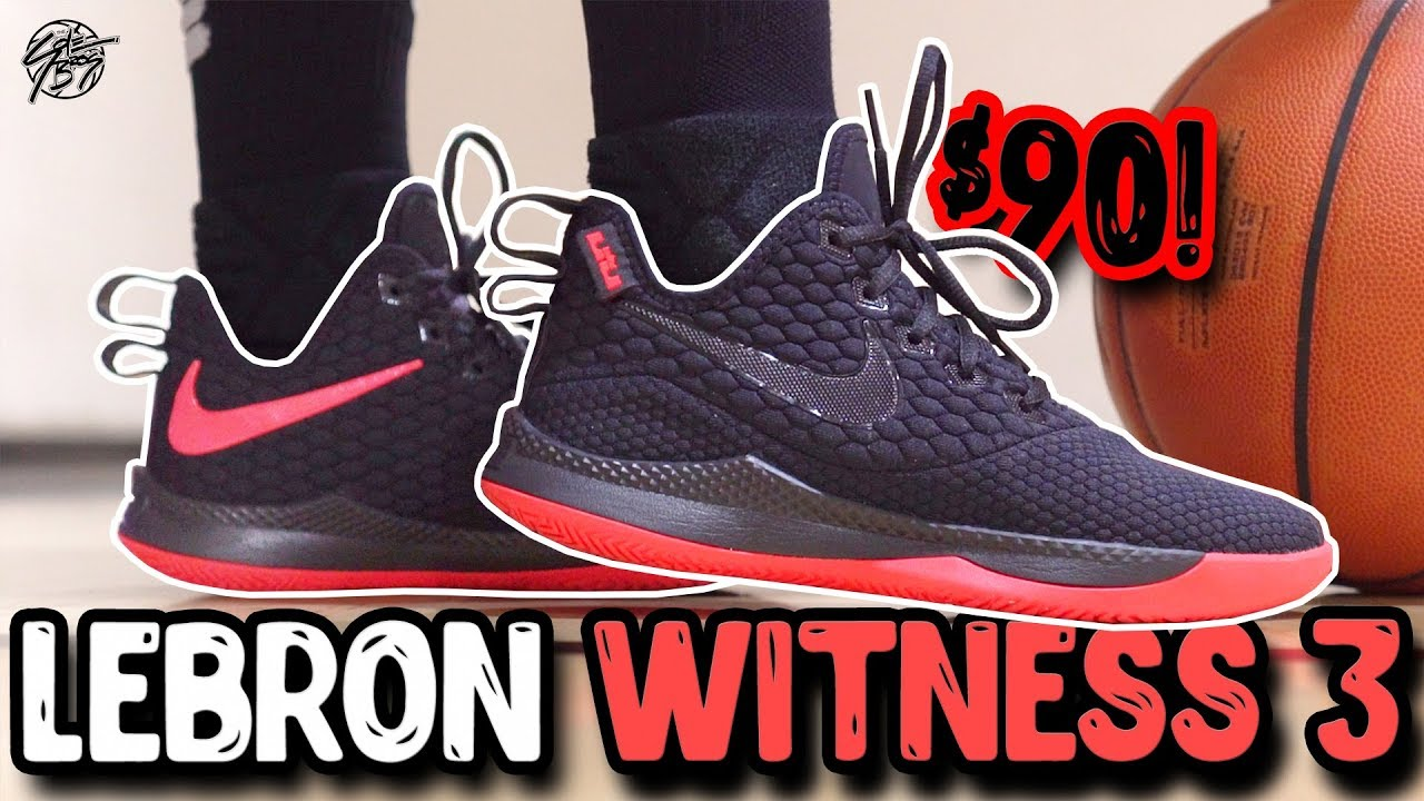 new product 0c9d3 8f2fd Nike Lebron Witness 3 Performance Review! Lebron s  90 Budget Shoe!