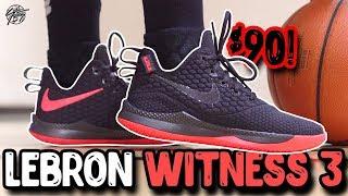 nike Lebron Witness 3 Performance Review! Lebron's 90 Budget Shoe!