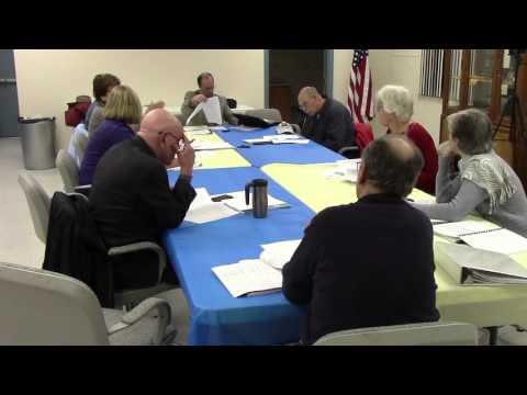 Board of Finance Meeting, January 11, 2016