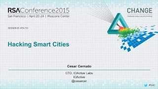 2015 Quick Look: Hacking Smart Cities