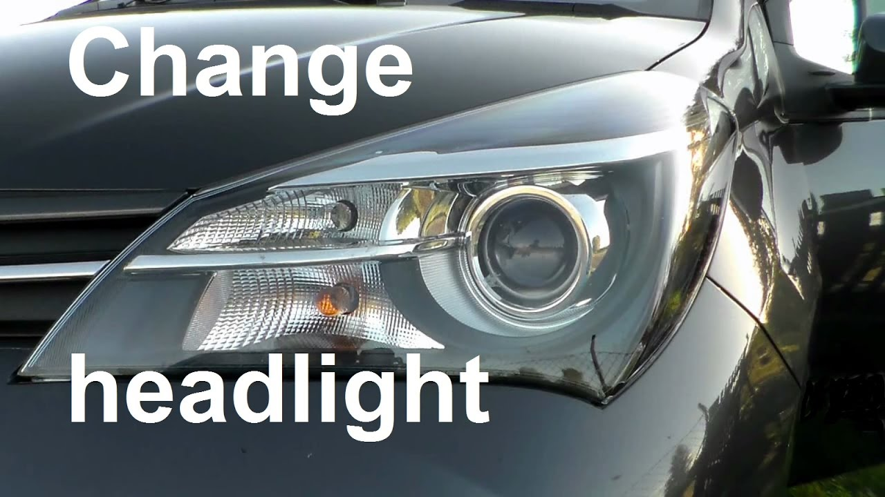 Toyota Yaris Front Light Bulb Change A Headlight Parking