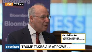 Historically, With a Trade War, the World Suffered, Says JPMorgan's Frenkel