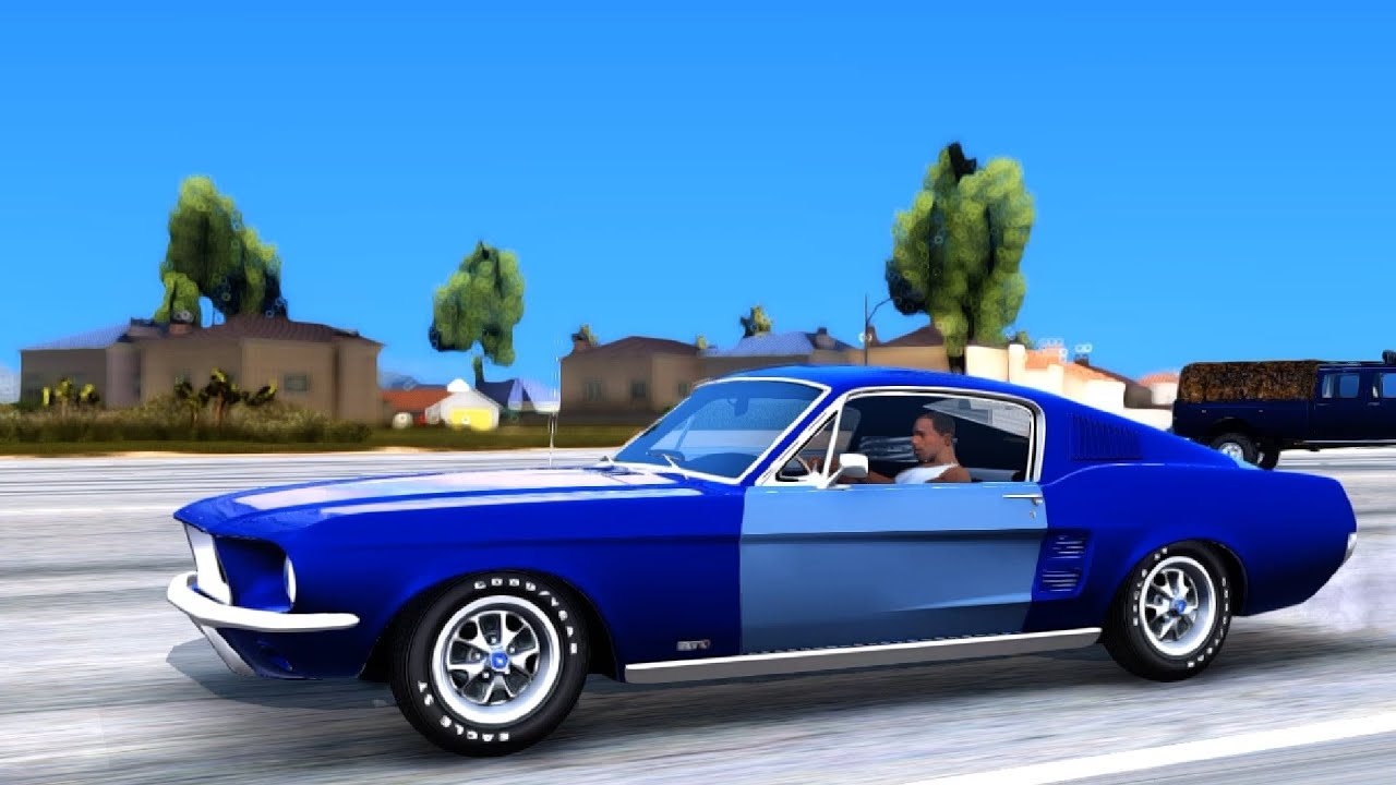 1967 ford mustang fastback gta san andreas