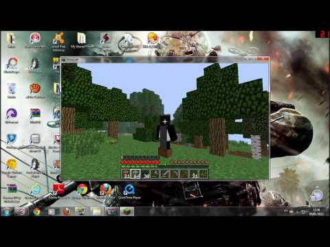 Como Colocar Skin No Minecraft pirata TODAS AS VERSOES FUNCIONANDO