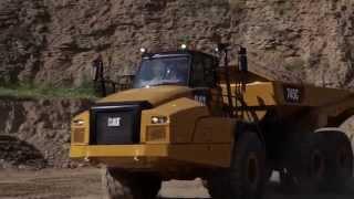 Cat® 735C, 740C EJ & 745C Articulated Trucks