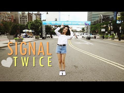 TWICE - Signal Dance Cover   Cindy Vo